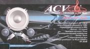 Автоакустика компонентная ACV AP-5.2GB новая с гарантией